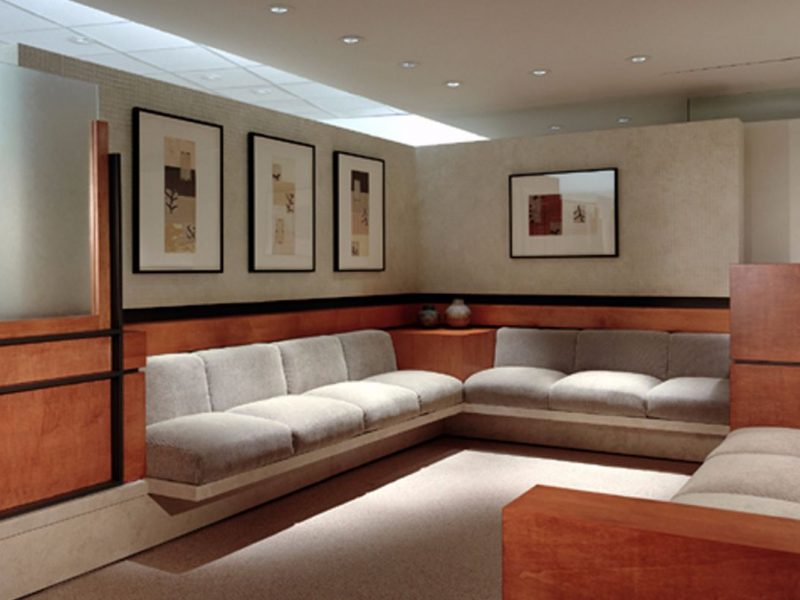 Hoag Breast Care Center interior design