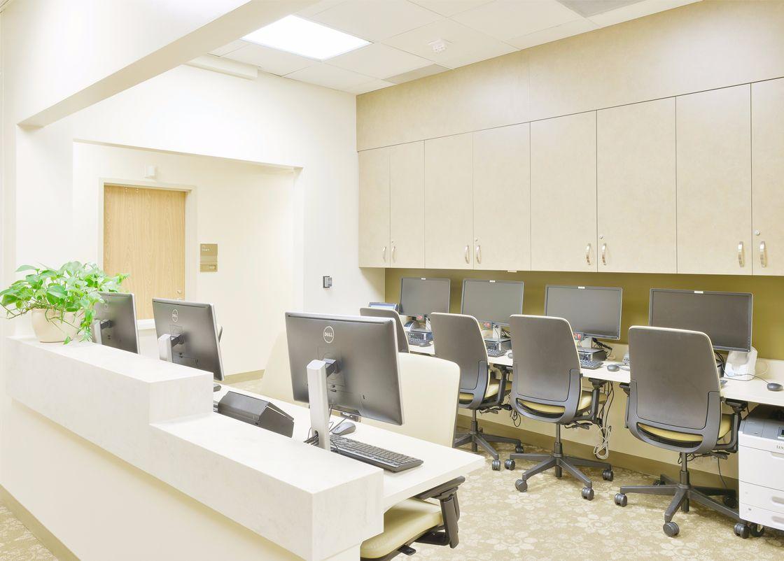 UCI Chao Center interior design
