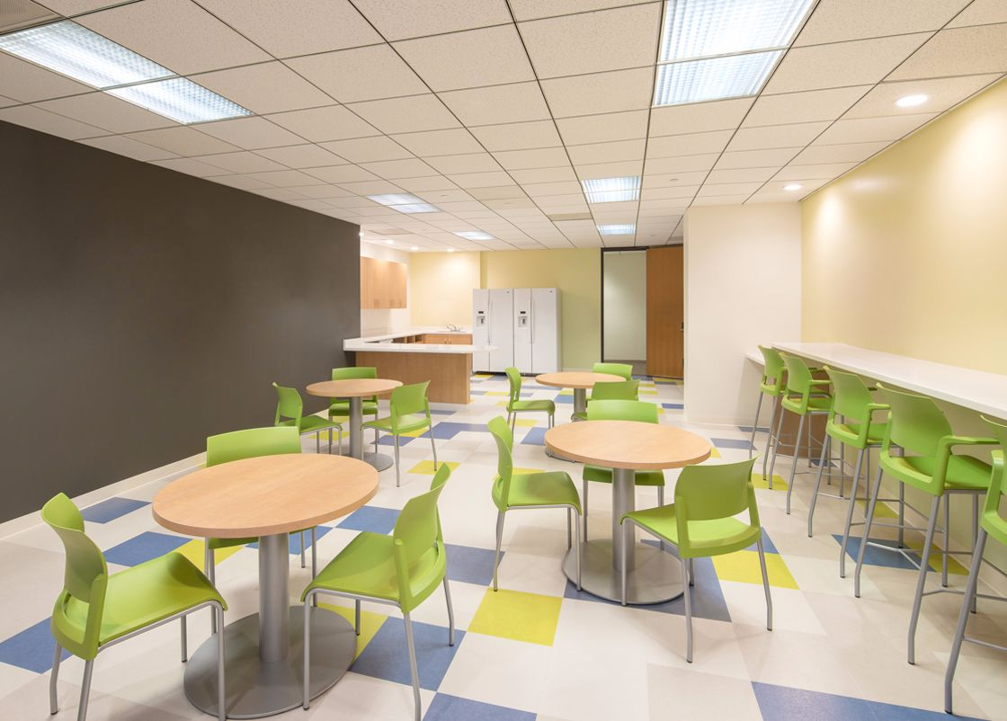 UCI Medical Call Center JinHan interior design
