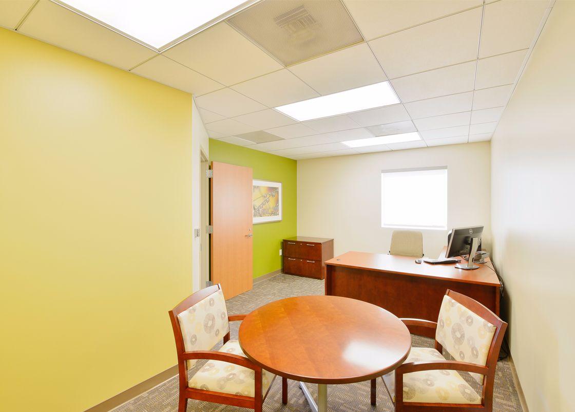 UCIMC Chao Administrative Suite interior design
