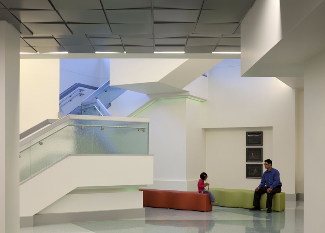 Miller Children Hospital interior design