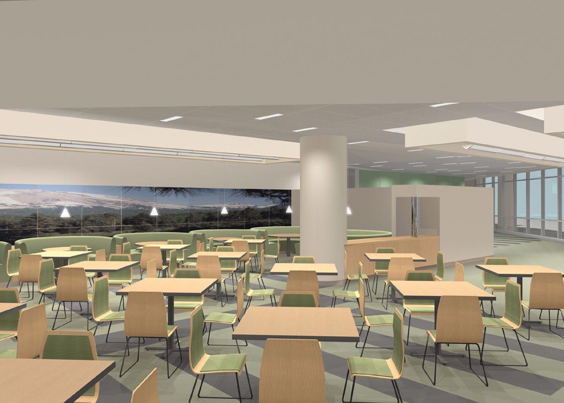 Kaiser Template Hospitals interior design
