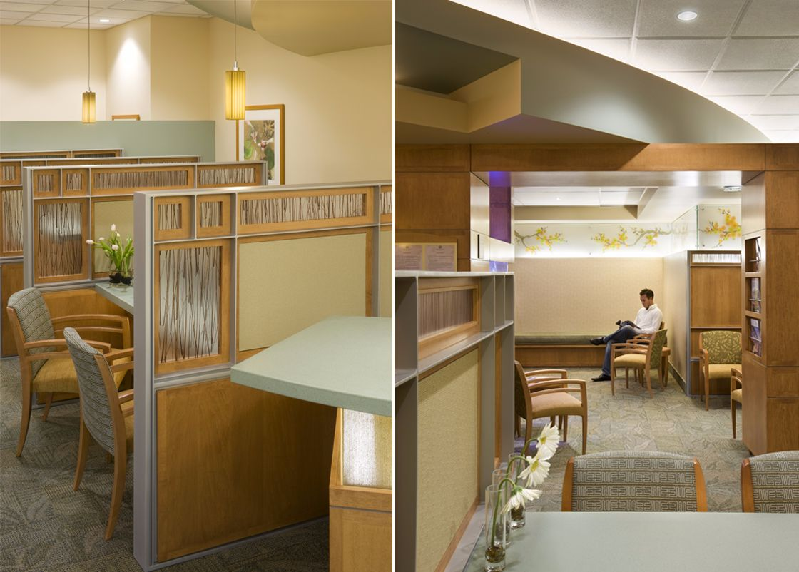 Loma Linda Cancer Center interior design