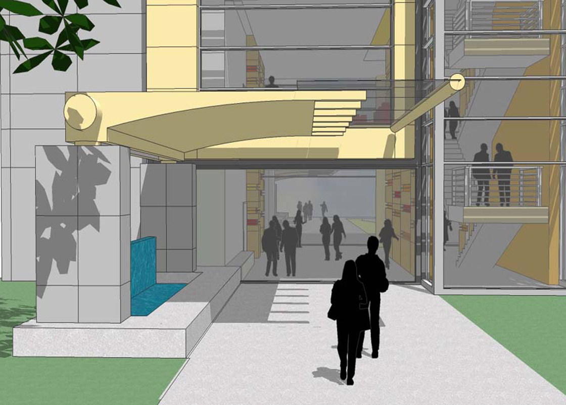 Gonda Lobby entry design
