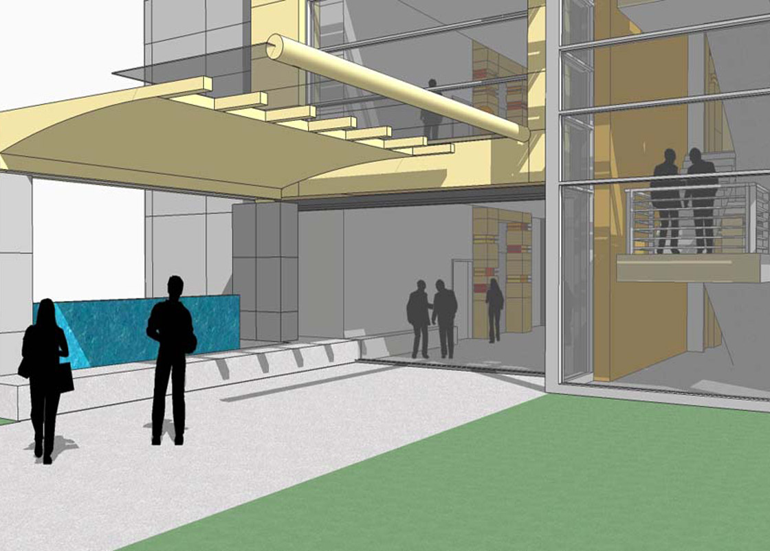 Gonda Lobby front design